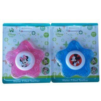 Disnep baby ยางกัดน้ำมิกกี้ มินนี่ Mickey & Minnie คละลาย (แพ็ค 2)