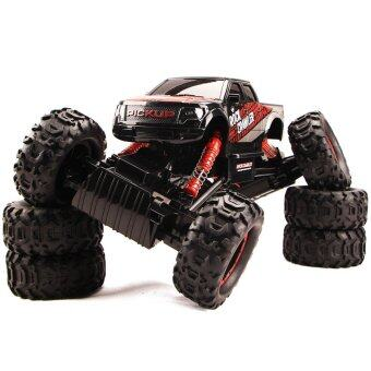 Harga Hitech รถไต่หิน 2.4ghz 4WD Rock Crawler 1:14 (BLACK)