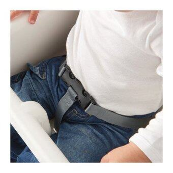 IKEA เก้าอี้ อีเกีย เก้าอี้สูง High Chair เก้าอี้ทานข้าวเด็กทรงสูง 0.6 - 4 ปีขนาด 58*62*90 ซม. พร้อมเข็มขัดนิรภัย (image 2)