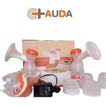 AUDA เครื่องปั๊มนม แบบปั๊มคู่ รุ่น AUDA 8798(สีส้ม)
