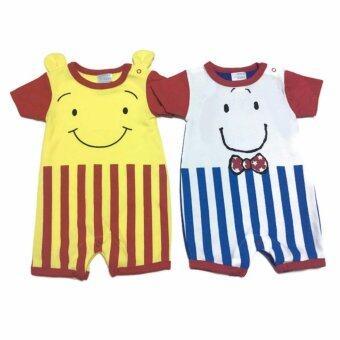 LITTLE BABY M เสื้อผ้าเด็กเล็ก ชุดหมีแพ็คคู่ R31