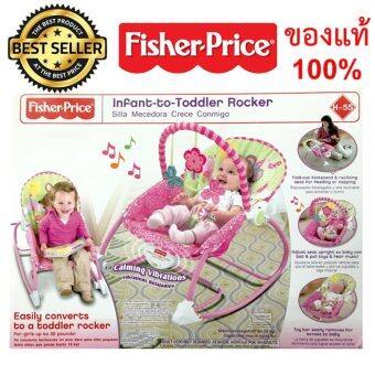 Fisher Price เปลสั่น เปลไกวอัตโนมัติ สีชมพู