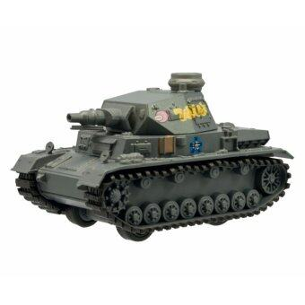 F-toys โมเดลรถถังจำลอง ชุด Girls und Panzer Pullback Tank Vol.2 เบอร์ 1.IV Panzer D-type (Anzio battle during practice) Oarai girls school Angler team