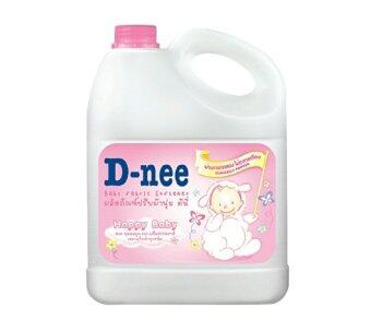 D-nee น้ำยาปรับผ้านุ่ม แบบแกลลอน 3000 มล. (สีชมพู) ยกลัง 4 ชิ้น