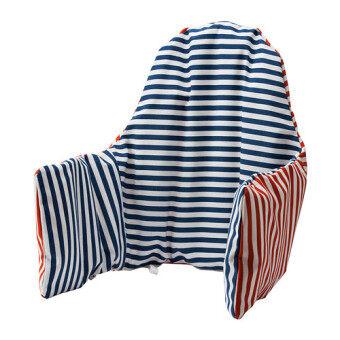 FIN-FIN เบาะรองหลังบนเก้าอี้เด็ก (สีแดง-น้ำเงิน)