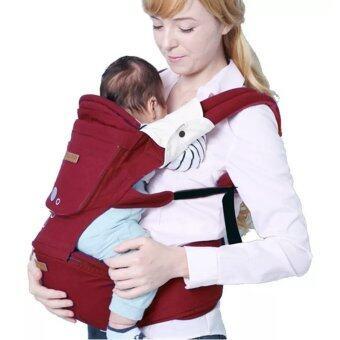 เป้อุ้มเด็ก เป้สะพายเด็ก Hip Seat i mama Baby Carrier i mama รุ่นขายดี สีแดง
