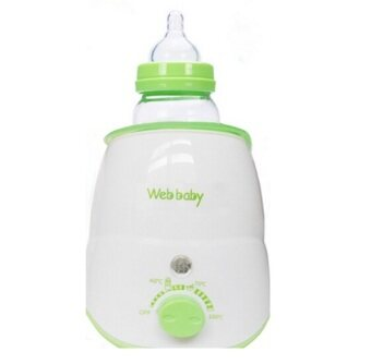 DJSHOP Web-Baby เครื่องอุ่นขวดนม/นึ่งขวดนม/อุ่นอาหารเด็ก(สีขาว)
