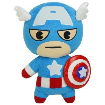 Marvel ตุ๊กตา อเวนเจอร์ กัปตัน อเมริกา 14 นิ้ว ผ้า 1C