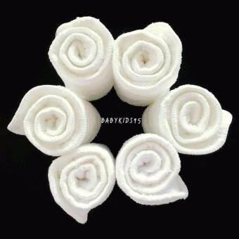 BABYKIDS95 แผ่นซับ ไมโครไฟเบอร์ หนา3ชั้น ขนาด 13.50*34 ซม. สีขาว สำหรับผ้าอ้อมเด็ก (แพ็ค 6 แผ่น)