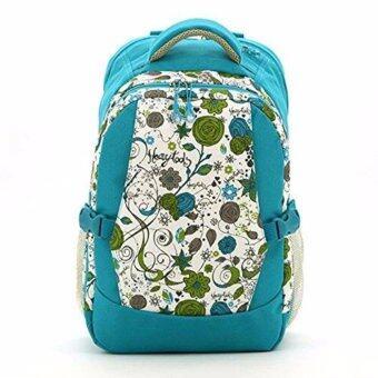 กระเป๋าเป้สะพายหลังสำหรับคุณแม่ กระเป๋าใส่ผ้าอ้อม ขวดนม ของใช้เด็ก กันน้ำ รุ่น DN083 สีฟ้า