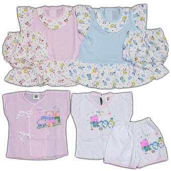 BABYKIDS95 ชุดเด็กอ่อน แรกเกิด-6 เดือน รวม 7 ชิ้น (cc-048)