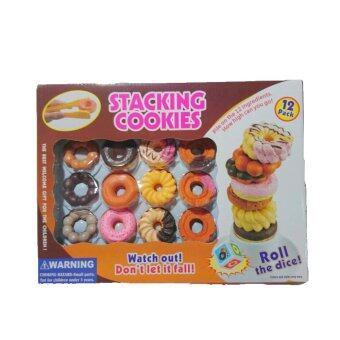 Rich toy STACKING Cookies เกมคีบโดนัท