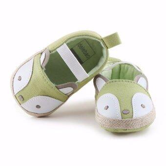 Baby Touch รองเท้าเด็ก รองเท้าหัดเดิน แซนเดิล จิ้งจอก (เขียว)