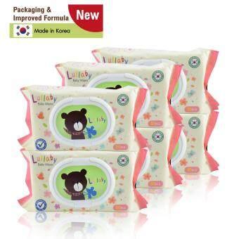Lullaby baby wipes ทิชชู่เปียกลัลลาบาย แพคเกจจิ้งใหม่ จำนวน80แผ่น โปรโมชั่น ซื้อ 3 แพ็ค ฟรี 3 แพ็ค ราคา429 บาท