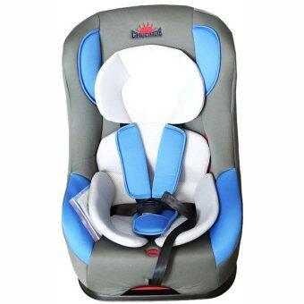 Chuchob คาร์ซีท ปรับ (นั่ง/เอน/นอน) สำหรับเด็กแรกเกิดขึ้น - 6 ขวบ รุ่น smart B-1(สีฟ้า)
