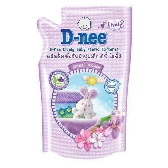 ขายยกลัง D-Nee น้ำยาปรับผ้านุ่ม ไลฟ์ลี่ กลิ่น Patchouli Blossom ขนาด 600 มล. (12 ถุง/ลัง)