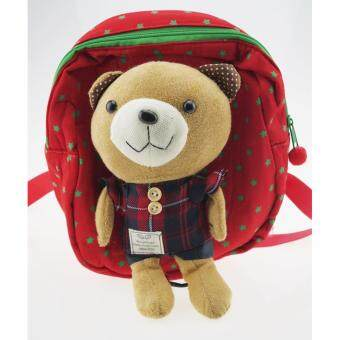 เป้จูงเด็ก หมีน้อยสีแดง