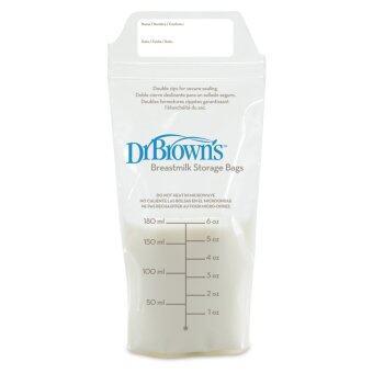 Dr.Brown's ถุงเก็บน้ำนม Breastmilk Storage Bags (25 pack)