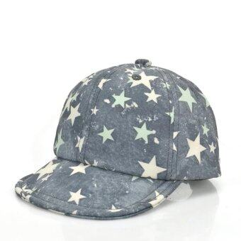 Harga Bear Fashion Newborn Star Baby Girls Boys Hats Baseball Caps - intl
