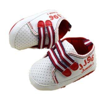 ขาว ๆ ลื่นพื้นรองเท้าทารกแรกเกิดร้อนรองเท้าเด็กหนุ่มสาวบนรองเท้าผ้าฝ้ายพู่ S802