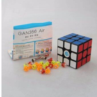 Harga Gans Puzzle Gan356 Air 3x3 Master/Advanced/Standard Black/white/Primar Cubo Magico Magic Cube Speed Drop Shipping - intl
