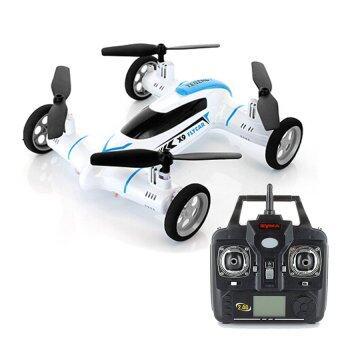 Syma โดรนบังคับ เครื่องบินบังคับ X9 FlyCar Quadcopter (สีขาว)