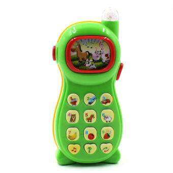 Toon World โทรศัพท์เด็กมีเสียงมีไฟ Kid's Telephone with sound and lights