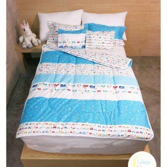 ผ้าห่มขนห่านเทียมกันไรฝุ่น สำหรับเด็ก 120cm. x 150cm. Alternative goose down blanket