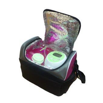 GRACE KIDS กระเป๋าเก็บอุณหภูมิแบบ 2ชั้น พร้อมก้อนน้ำแข็งสำหรับแช่นมและอาหาร (2 ชิ้น) (image 3)