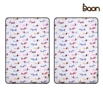 Daon เบาะรองนอนระบายอากาศ - เด็กแฝด 3D Air Mesh Mattress-Puppy 2PCS ลายน้องหมา สีขาว (จำนวน 2 ผืน)