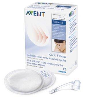 Avent Niplette อุปกรณ์แก้ปัญหาหัวนมบอดหรือสั้น