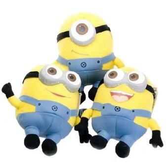 Harga Set of 3 Pieces 3D Glass 6 Inch Different Minions