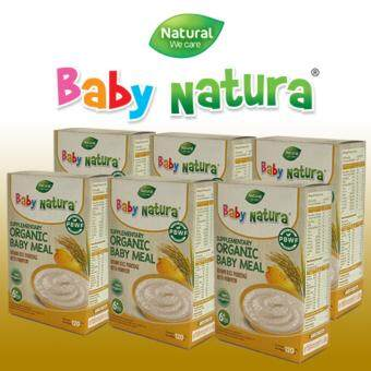 Baby Natura อาหารเสริมออร์แกนิกสำหรับทารกและเด็กเล็ก6เดือน ถึง 3ปี (รุ่นแพค6)