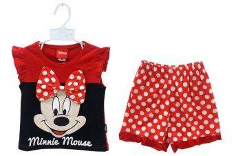 Disney เสื้อผ้าเด็ก ชุดเสื้อและกางเกง มินนี่ เม้าส์