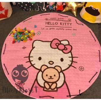 เบาะรองคลาน-เล่น-นอน เสริมพัฒนาการ 150*150 ซม. (Hello Kitty)