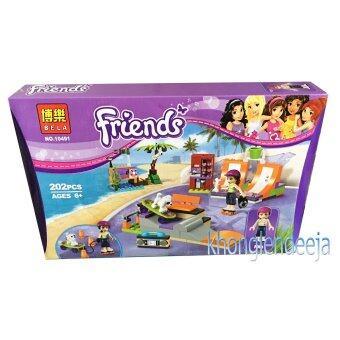 Khonglendee ชุดตัวต่อเลโก้ Friends ชุดเครื่องเล่น NO.10491 (202 PCS)