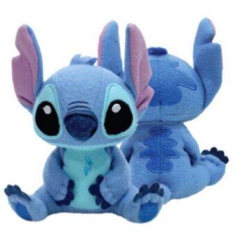 Disney ตุ๊กตา สติช Stitch ท่านั่ง 24นิ้ว (สีน้ำเงิน)