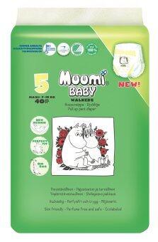 Muumi Baby ผ้าอ้อมเด็กสำเร็จรูป ชนิดกางเกง ไซส์ M (7-15 kg.) บรรจุ 40 ชิ้น 1 ห่อ