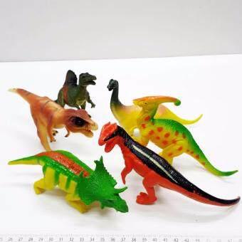 Dinosaours Colorful ไดโนเสาร์ ยาง