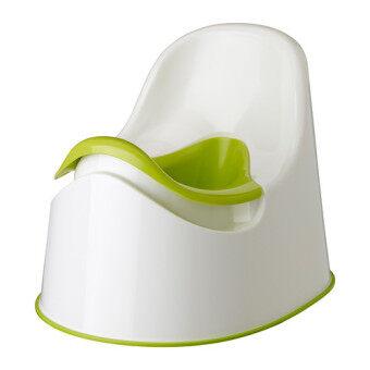 IKEA อีเกีย ล็อคกิก กระโถนเด็ก, เขียว ขาว, เขียว