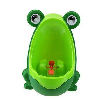 Baby โถปัสสาวะสำหรับเด็ก รูปร่างกบ สีเขียว รุ่น artfrog