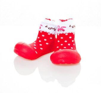 Attipas รองเท้าหัดเดิน รุ่น Love สีRed Size M