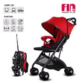 Fin Babiesplus รถเข็นเด็กแบบพบพา Travelling Stroller ปรับนอนได้ พับเก็บมีล้อลาก รุ่น CAR-Z1