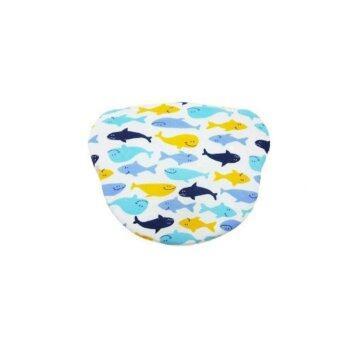ปลอกหมอนลายวาฬชมพู (Fish) Baby Pillow Case