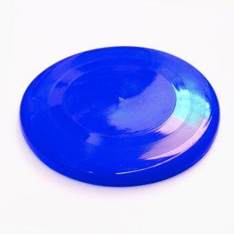 จานร่อน จานร่อนเพื่อสุขภาพ จานบิน เกมส์กลางแจ้ง 1 ชิ้น สีน้ำเงิน