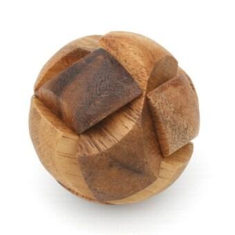 Ama-Wood ของเล่นไม้ ฟุตบอล, เล็ก (Soccer Ball Wooden Puzzle, Small)