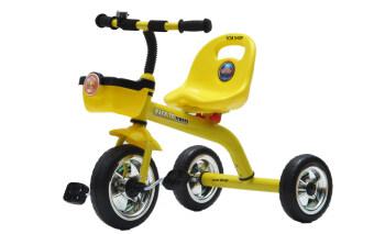 SCM Shop รถจักรยานเด็ก 3 ล้อมีตระกร้า (Yellow)