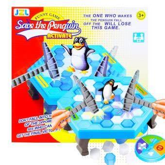 Toys เกมทุบน้ำแข็ง เพนกวินสะเทือน Penguin trap ฮิตมากตอนนี้