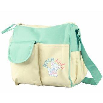 กระเป๋าคุณแม่ใส่สัมภาระ อาทิเช่น ผ้าอ้อม ผ้าอ้อมสำเร็จรูป ขวดนม เหมาะสำหรับเดินทาง น้ำหนักเบา กะทัดรัด ลายน่ารัก สดใส