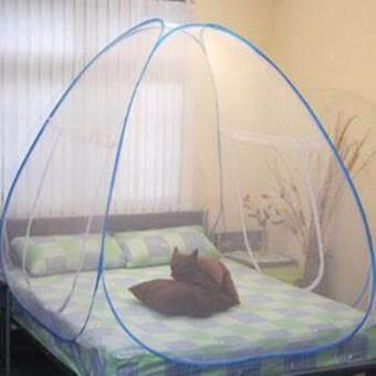 NanaBaby มุ้งกันยุงสำหรับเตียงนอนขนาด 6 ฟุต (180*200 cm) แบบเต้นท์กระโจม